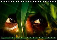 Dschungelaugen im Regenwald (Tischkalender 2019 DIN A5 quer) - Produktdetailbild 5