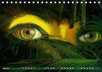 Dschungelaugen im Regenwald (Tischkalender 2019 DIN A5 quer) - Produktdetailbild 6