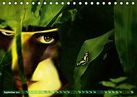 Dschungelaugen im Regenwald (Tischkalender 2019 DIN A5 quer) - Produktdetailbild 9
