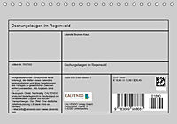 Dschungelaugen im Regenwald (Tischkalender 2019 DIN A5 quer) - Produktdetailbild 13