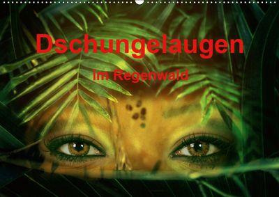 Dschungelaugen im Regenwald (Wandkalender 2019 DIN A2 quer), Liselotte Brunner-Klaus