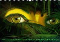 Dschungelaugen im Regenwald (Wandkalender 2019 DIN A3 quer) - Produktdetailbild 6