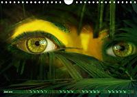 Dschungelaugen im Regenwald (Wandkalender 2019 DIN A4 quer) - Produktdetailbild 6