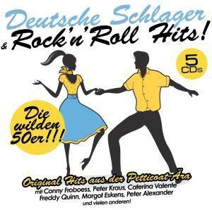 Dt.Schlager & Rock'n Roll Hits, Diverse Interpreten