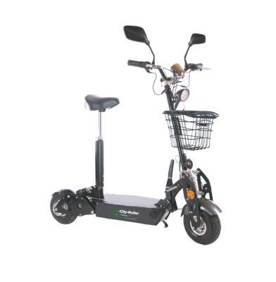 DTE - Elektro City Roller, Basic - mit Korb