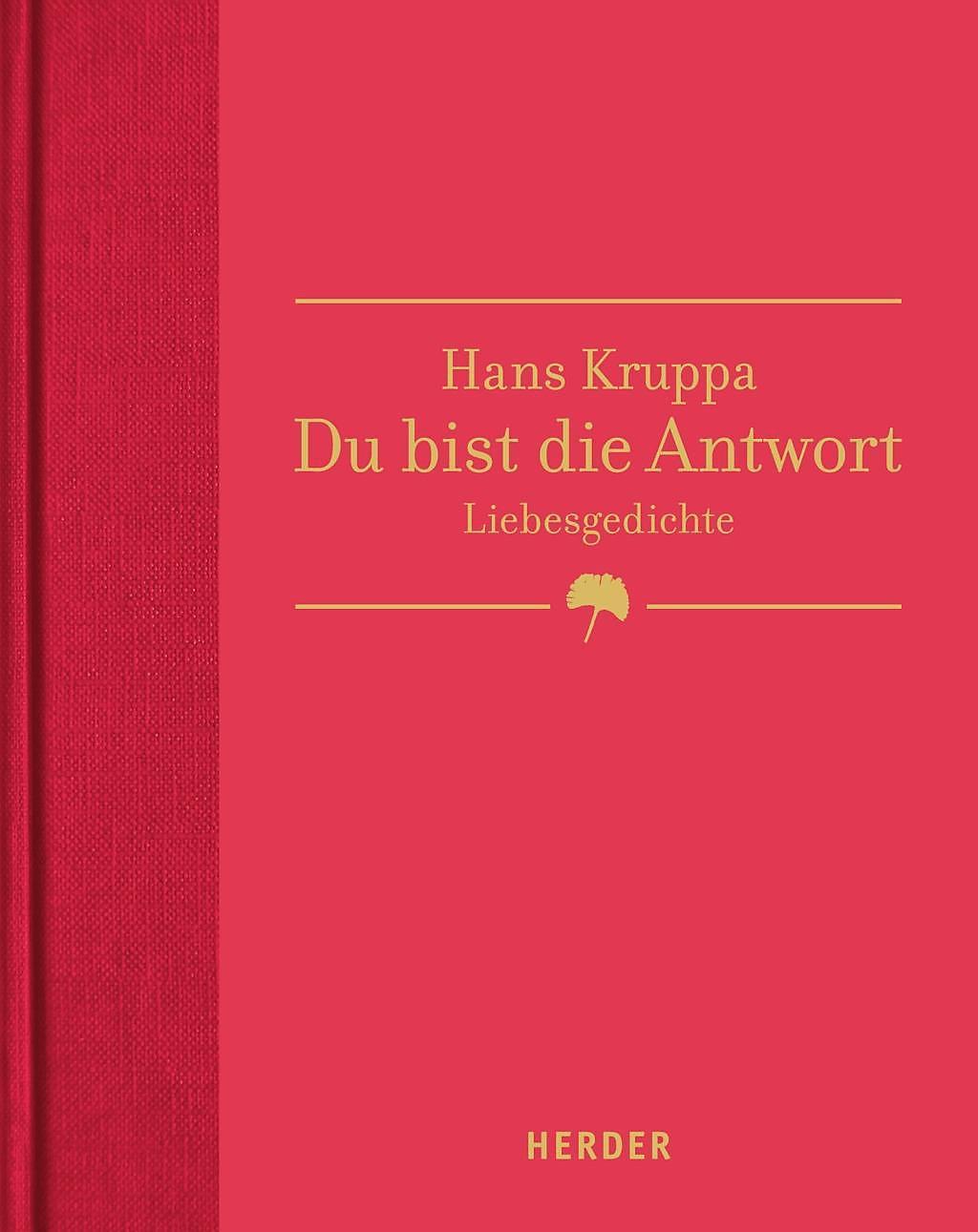 Du Bist Die Antwort Buch Von Hans Kruppa Versandkostenfrei