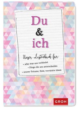 Du & Ich - Unser Listenbuch
