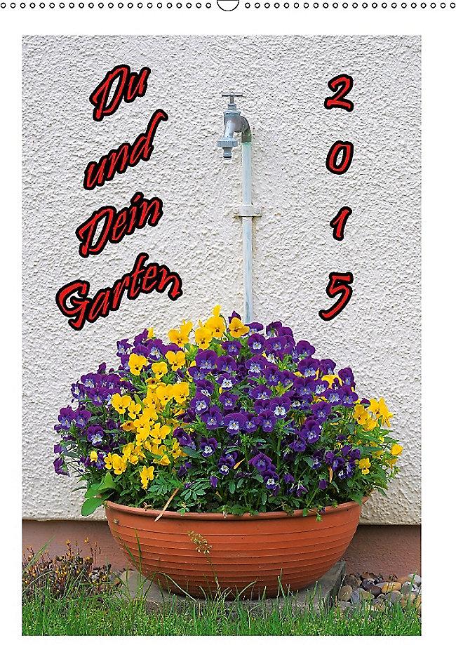 Du Und Dein Garten Wandkalender 2018 Din A2 Hoch Kalender Bestellen