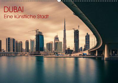 Dubai - Eine künstliche Stadt (Wandkalender 2019 DIN A2 quer), Jean Claude Castor