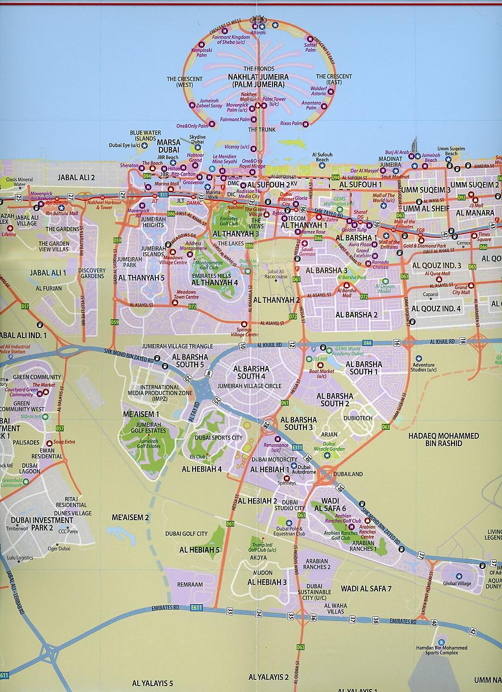 Dubai Map Buch jetzt portofrei bei Weltbild.de bestellen on