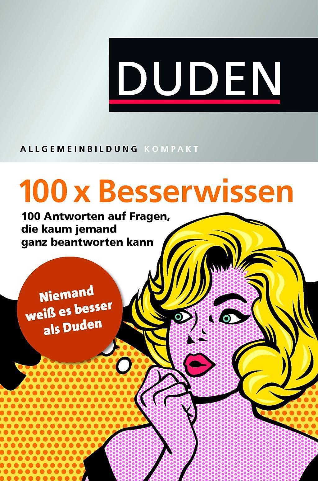 Duden 100 X Besserwissen Buch Bei Weltbildde Online Bestellen