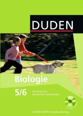 Duden - Biologie, 5./6. Klasse, Lehrbuch mit CD-ROM