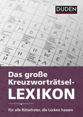 Duden - Das große Kreuzworträtsel-Lexikon, Dudenredaktion