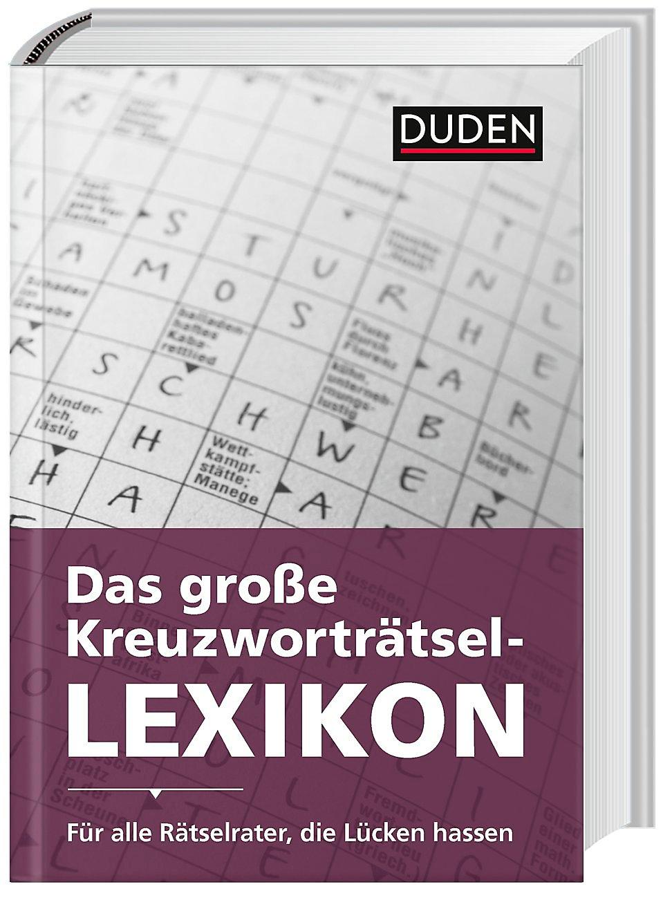 Weihnachten Duden.Duden Das Große Kreuzworträtsel Lexikon Buch Portofrei