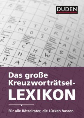 Duden - Das Profi-Kreuzworträtsel-Lexikon mit Schnell-Such-System, Dudenredakion