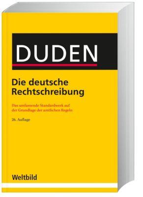 DUDEN - Die deutsche Rechtschreibung 26. Auflage