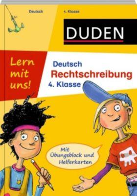 duden lern mit uns deutsch rechtschreibung 4 klasse buch