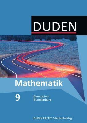 Duden Mathematik, Ausgabe Gymnasium  Brandenburg: 9. Klasse, Lehrbuch