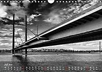 Düsseldorf Ansichten in Schwarz-Weiss (Wandkalender 2019 DIN A4 quer) - Produktdetailbild 7