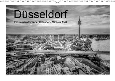 Düsseldorf - Micaela Abel (Wandkalender 2019 DIN A3 quer), Micaela Abel