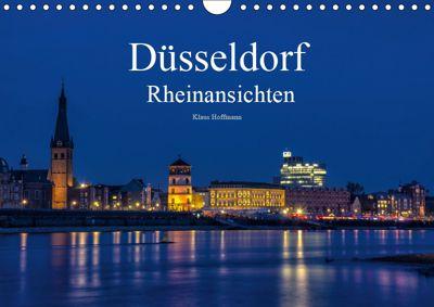 Düsseldorf - Rheinansichten (Wandkalender 2019 DIN A4 quer), Klaus Hoffmann