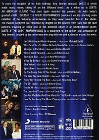 Duets II: The Great Performances DVD - Produktdetailbild 1