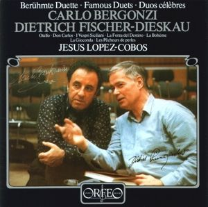 Duette:Don Carlo/La Gioconda/Pecheurs Des Perles/+, Bergonzi, Fischer-Dieskau, Lopez-Cobos, Sobr