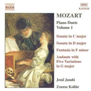"""Duette für Klavier zu vier Händen Vol. 1, Jen"""" Jando, Zsuzsa Kollar"""