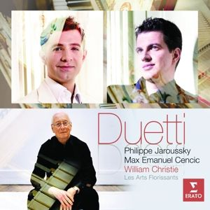 Duetti, Philippe Jaroussky, Max Emanuel Cencic, W. Christie