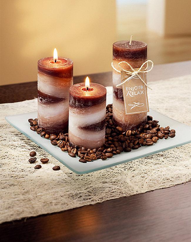 Bevorzugt Duftkerzen-Set Kaffee, 5-teilig jetzt bei Weltbild.de bestellen EU96