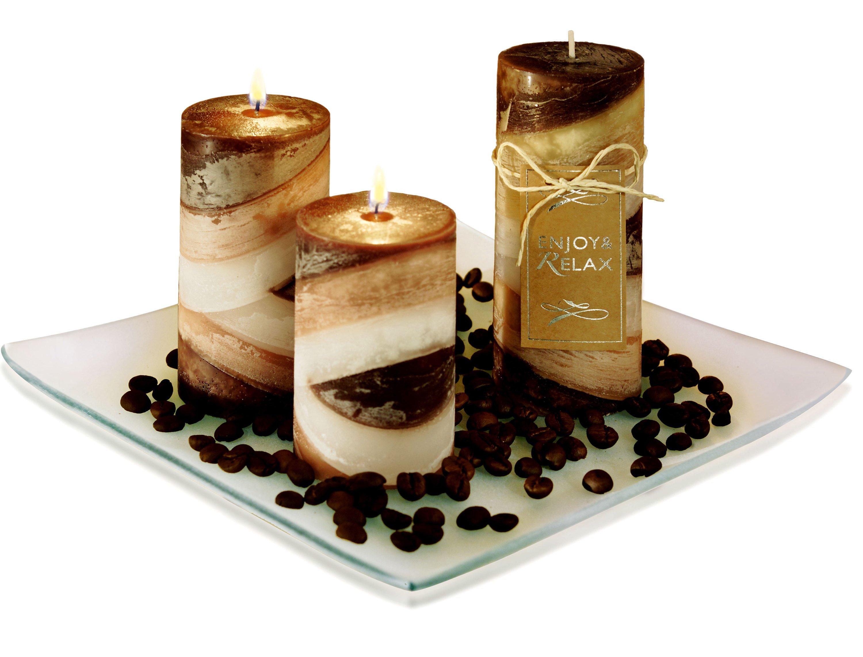 Super Duftkerzen-Set Kaffee, 5-teilig jetzt bei Weltbild.de bestellen GY04