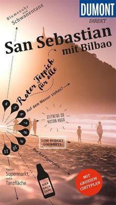 DuMont direkt Reiseführer San Sebastián mit Bilbao - Julia Reichert |