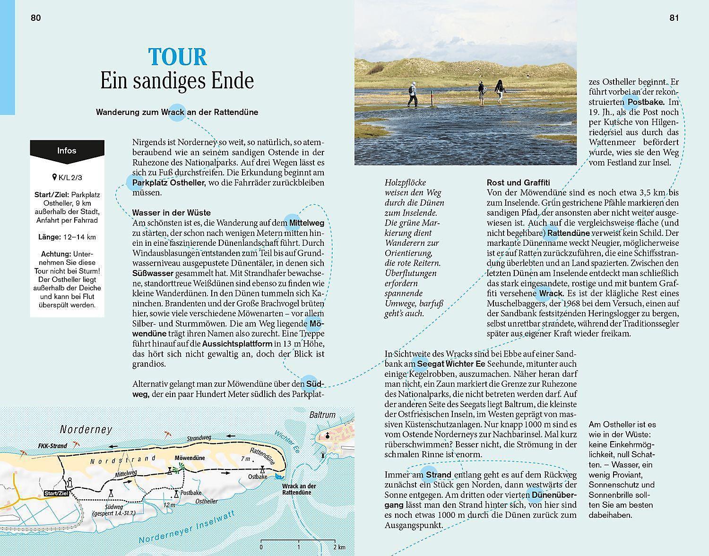 Norderney Karte Straßen.Dumont Reise Taschenbuch Ostfriesische Inseln Nordseeküste Buch
