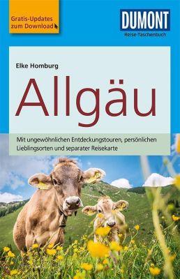 DuMont Reise-Taschenbuch Reiseführer Allgäu - Elke Homburg |