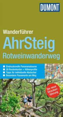 DuMont Wanderführer E-Book: DuMont Wanderführer Ahrsteig, Rotweinwanderweg, Hans-Joachim Schneider