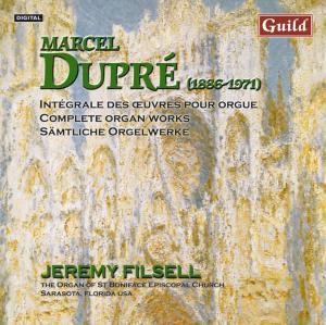 Dupre Orgelwerke Vol.3, Jeremy Filsell - Organ
