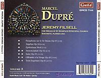 Dupre Orgelwerke Vol.5 - Produktdetailbild 1
