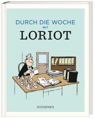 Loriot Weihnachten.Durch Die Woche Mit Loriot Buch Von Loriot Portofrei