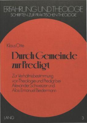Durch Gemeinde zur Predigt, Klaus Otte
