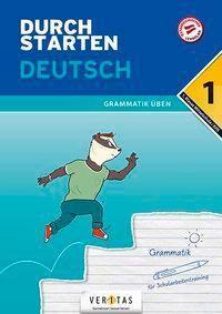 Durchstarten - Deutsch Mittelschule/AHS - 1. Klasse - Grammatik - Gernot Blieberger |