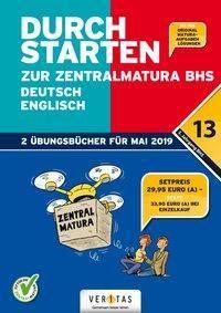 Durchstarten zur Zentralmatura 2019 - Deutsch, Englisch, 2 Tle., Emii Bergmann, Jutta Hofer, Franz Zach