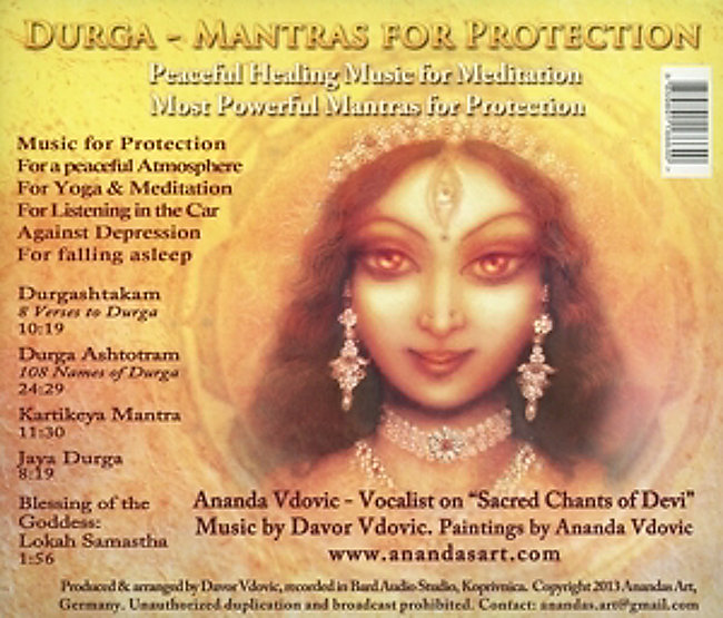 Durga-Mantras For Protection CD bei Weltbild de bestellen