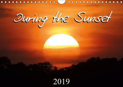 During the sunset (Wall Calendar 2019 DIN A4 Landscape), Martiniano Ferraz