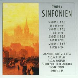 Dvorak,Anton-Die Sinfonien, Tschechische Philharmoniker