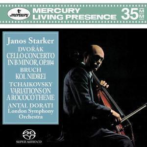 Dvorak: Cello Concerto, Janos Starker, Antal Dorati, Lso