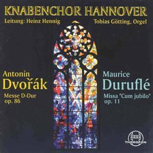 Dvorák/duruflé: Messen, Knabenchor Hannover, Heinz Hennig