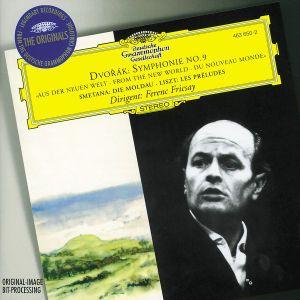 Dvorák: Symphony No.9 / Smetana: The Moldau / Liszt: Les Préludes, Ferenc Fricsay, Bp, Rsob