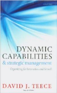 Teece david j. (2009) dynamic capabilities and strategic management