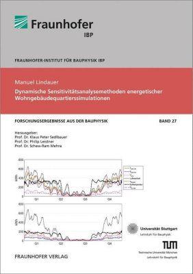 Dynamische Sensitivitätsanalysemethoden energetischer Wohngebäudequartierssimulationen., Manuel Lindauer
