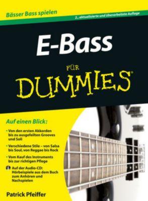 E-Bass für Dummies, m. Audio-CD, Patrick Pfeiffer
